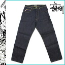Stussy STUSSY denim RUGGGD DENIM ROUGH cotton mens