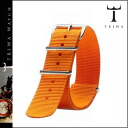 Tri TRIWA TRIWA dedicated strap STNY102 ORANGE NATO nylon men's women's Orange