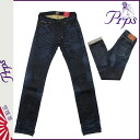 ピーアールピーエス PRPS vintage denim E63P132V6MONTH WASH RAMBLER SKINNY FIT LOW FRONT RISE cotton mens Womens 2013 new INDIGO