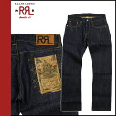 Double Aurel RRL DOUBLE RL Ralph Lauren boot cut denim jeans [Indigo] DENIM JEANS jeans mens
