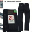 Point double Ann buran dead THE UNBRANDED BRAND denim jeans [indigo] TAPERED FIT jeans jeans men [regular]