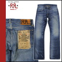 Double are L RRL DOUBLE RL Ralph Lauren denim jeans [indigo] jeans jeans bootcut men ★★