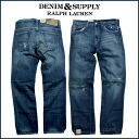 Denim and supply DENIM&SUPPLY Ralph Lauren denim jeans [blue] PDS FALL 1 men's jeans [4/11 Shinnyu load] [regular]★★
