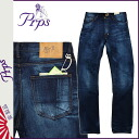 Point 10 times ピーアールピーエス PRPS denim jeans [Indigo] BARRACUDA SKIDMARK mens jeans [3 / 31 new in stock] [regular] 10P05Apr14M