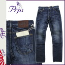 PRPS denim jeans ピーアールピーエス [blue] FURY BEATCH RAT men's jeans [4 / 9 new in stock] [regular]