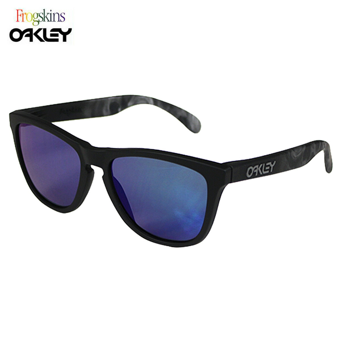 oakley glasses stock  oakley oakley sunglasses frogskins frog skin mens womens glasses 24 398 skull x limited edition soft touch skulls unisex blue iridium