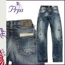 Point up to 20 times PR P S PRPS denim jeans [indigo] BARRACUDA BUCKINGHAM FOREST men jeans 2014 new work [regular]