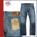 Double are L RRL DOUBLE RL Ralph Lauren denim jeans men jeans slim bootcut 2014 arrival indigo ICON CORE SLIM BOOTCUT [8/22 Shinnyu load] [regular] ★★ 02P31Aug14