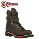Chippewa CHIPPEWA work boots 9 inch 25492 9INCH BAY APACHE E wise leather men's Bay Apache