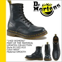 Dr. Martens Dr.Martens 1460 WOMENS 8 hole boots R11821410 MATERIAL UPDATES Leather Womens mens 8 EYE BOOT