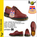 Dr. Martens Dr.Martens MIE 1461 3 Hall shoes R13762600 MIE Made in England leather mens Womens 3 EYE SHOE