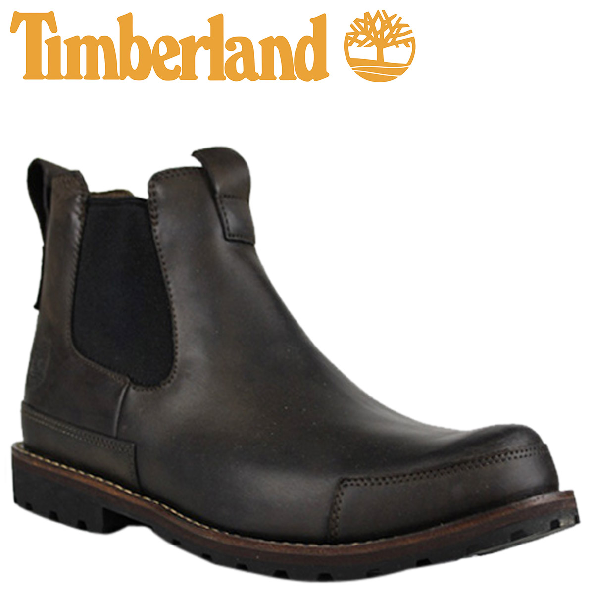 timberland earthkeepers chelsea boots 21560   dark brown