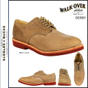 Walk-over WALK OVER plain shoes WM6015 DERBY OXFORD leather mens