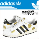 Adidas originals adidas Originals Jeremy Scott sneakers G61527 Superstar80s leather men's Super Star 80 s