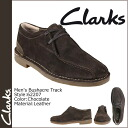 Clarks Clarks Bush acre truck [chocolate] 62207 Bushacre Track suede men's comfort shoes suede [regular]