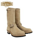 Wesco WESCO 11 inch the boss BE7700100 11INCH THE BOSS STEEL TOE E wise leather mens Wesco Engineer Boots