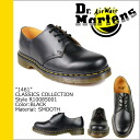 Dr. Martens 1461 3 Dr.Martens Hall shoes 10085001 10085600 CLASSICS leather mens Womens 3 EYE SHOE