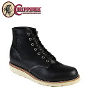 Chippewa CHIPPEWA 6 inch plain to boots 90093 6 INCH PLAIN TOE BOOTS D wise leather men's