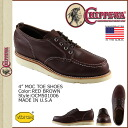 Chippewa CHIPPEWA 4-inch mock to shoes OCM501006 4INCH MOC TOE SHOES D wise leather mens