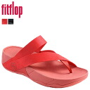 Fit flops FitFlop Sandals 296-001 296-258 SLING WEBBING cotton / leather women's Sling