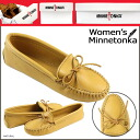 Mine Tonka MINNETONKA double deerskin software sole DOUBLE DEERSKIN SOFTSOLE leather Lady's