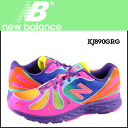 New balance new balance KJ890GRG kids women's sneakers M wise mesh / synthetic leather