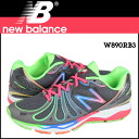 New balance new balance W890RB3 Womens mens sneakers B wise mesh / leather