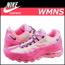 «Reservation products» «10 / 22 around stock» NIKE WMNS AIR MAX 95 DYF FW 553554-600 sneaker of Nike women's Air Max 95 mesh x leather mens Womens Air Max pink