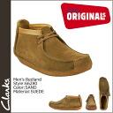 Clarks originals Clarks ORIGINALS sundry boots 66280 REDLAND crepe sole suede men's suede