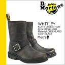 Dr. Martens Dr.Martens short Engineer Boots R15241001 WHITLEY leather men's engineer boots