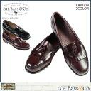 [Black Burgundy] ジーエイチバス G. H. BASS Layton LAYTON TASSE LOAFER tassel loafers D wise leather mens [1 / 14 Add in stock] [regular]