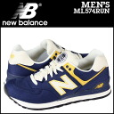 New balance new balance ML574RUN sneakers D wise canvas mens