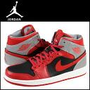 Nike NIKE AIR JORDAN 1 MID 554724-603 sneakers Air Jordan 1 mid leather men's Air Jordan