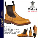 Trickers Tricker's elastic ダイナイトソール ladies Couleur L2754 ELASTIC 4 wise calf leather Made In ENGLAND Trickers Couleur