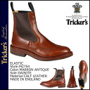 Trickers Tricker's elastic ダイナイトソール Couleur M2754 ELASTIC BOOT 5 wise calf leather mens Made In ENGLAND Trickers Couleur