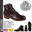 Wolverine WOLVERINE 1000 mile plain toe boots W00137 1000 MILE BOOT NO.8 leather men's