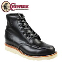Chippewa CHIPPEWA 6 inch MOC to wedge boots 1901M19 6INCH MOC TOE WEDGE E wise leather mens BOOTS