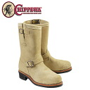 11 inches of チペワ CHIPPEWA steel toes engineer [sand] 1901M55 11INCH STEEL TOE ENGINEER E Wise suede men suede cloth BOOT [regular]