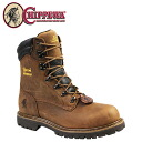 Point 2 x Chippewa CHIPPEWA 8 inch waterproof steel to boots [Tan Rodeo, 55067 6INCH WATERPROOF STEEL TOE BOOTS M wise leather men's [regular] 05P11Jan14