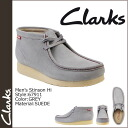 Clarks Clarks Stinson high Wallaby boots 67911 STINSON HI suede men's suede 02P13Dec13_m