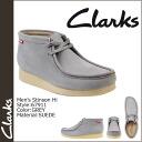 Clarks Clarks Stinson high Wallaby boots 67911 STINSON HI suede men's suede 02P13Dec13_m