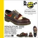 ★ slashing ★ Martens Dr.Martens Pendleton R13985230 5 hole wing tip shoes [Tan x beige] PENDLETON 3989 leather mens Womens unisex [1 / 29 additional stock] [regular]