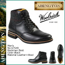 Point 2 x Abington ABINGTON Timberland Timberland×Woolrich Mega Man boots 6754R [Black] Rockman Boot leather x mens Woolrich wool [1 / 6 new in stock] [regular] ★ ★ 05P11Jan14