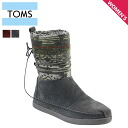 TOMS SHOES Toms shoes suede Jacquard Womens Nepal boots 2 color 1000065 Suede Jacquard Women's Nepal Boots Womens suede TMS [regular]