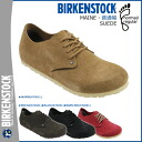 Birkenstock BIRKENSTOCK main MAINE 3 color men's women's Sandals shoe room main suede