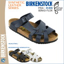 Birkenstock-BIRKENSTOCK Pisa PISA [normal width ビルコフロー] 3 color mens Womens unisex Sandals [4 / 2 new in stock] [regular]