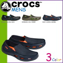 Crocs crocs Crocs tideline canvas 3 color TIDELINE CANVAS canvas x cross light men's slip-on loafers 14999 outdoors [genuine]