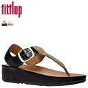 Fit flops FitFlop women's TIA TIA Sandals 2 color leather SANDAL 351 [3 / 17 new in stock] [regular]