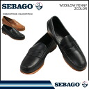 Sebago SEBAGO WICKLOW PENNY 2 color Wicklow penny leather D wise men's loafer LOAFER [regular]