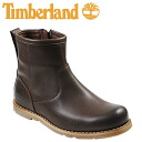 Timberland Timberland Earthkeepers rugged サイドジップ [Dark Brown] EARTH KEEPERS RUGGED SIDEZIP BOOT nubuck men's 5062A [4 / 3 new in stock] [regular]